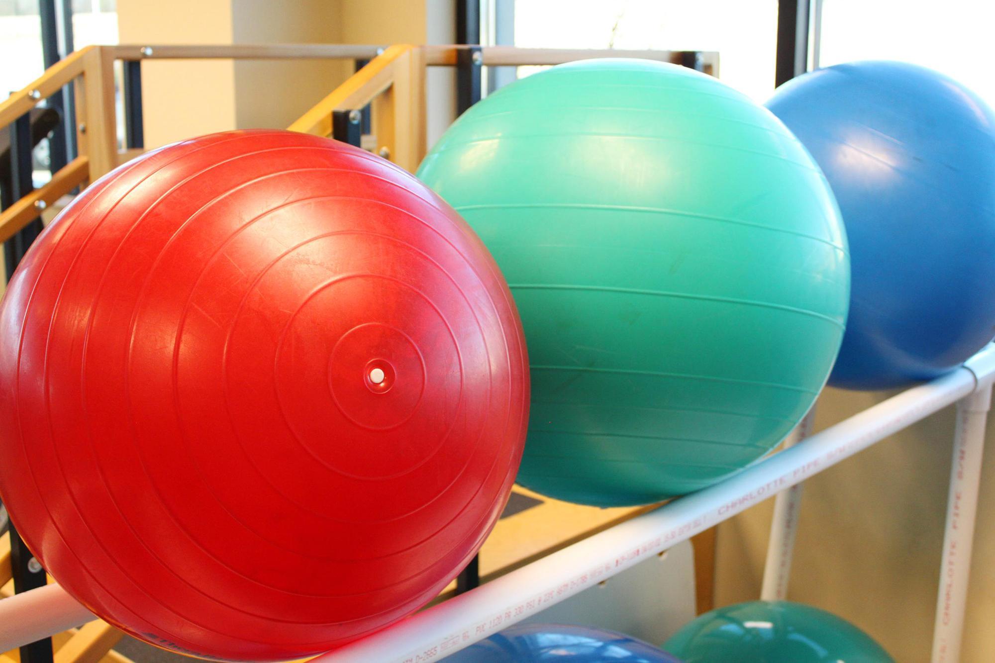 Swiss Ball training Lower Hutt