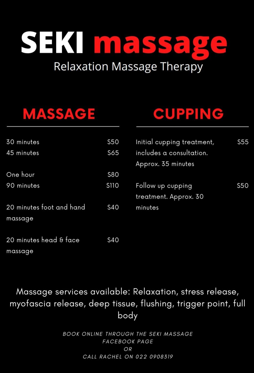 Seki Massage